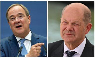 """Sondazhi i zgjedhjeve në Gjermani, Scholz """"kokë më kokë"""" me Laschest (FOTO LAJM)"""