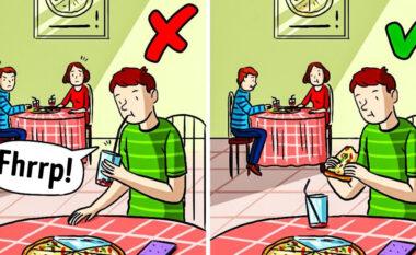 10 rregulla të mirësjelljes që përcaktojnë në pamje të parë çfarë do mendojnë njerëzit për ju (FOTO LAJM)