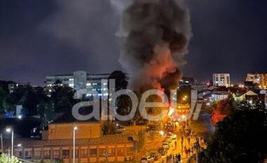 Zjarri në Spitalin e Tetovës, sa ishte numri i pacientëve të vendosur aty (VIDEO)