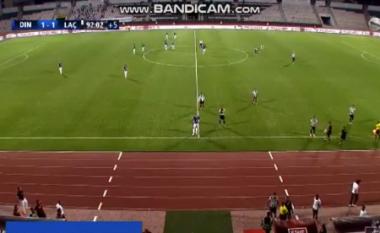 Dinamos i ikën nga duart fitorja, Laçi i heq fitoren në limit (VIDEO)