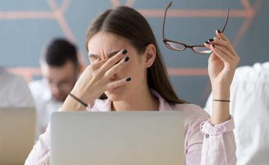 Lodhja e syve nga kompjuteri: 6 strategji që ndihmojnë