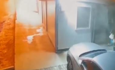 Dalin pamjet e shpërthimit të zjarrit në spital Covid të Tetovës (VIDEO)