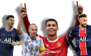 """LISTA/ Cristiano Ronaldo lojtari më i paguar në botë, futet """"fshehurazi"""" Iniesta (FOTO LAJM)"""