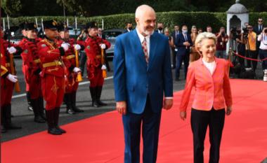 Vizita në Tiranë, mesazhi i Von Der Leyen: E ardhmja e Shqipërisë është në BE