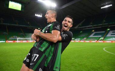 Myrto Uzuni rikthehet te goli në kampionatin hungarez (VIDEO)