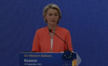 Presidentja e KE flet për situatën në veri: Të vazhdohet me dialogun