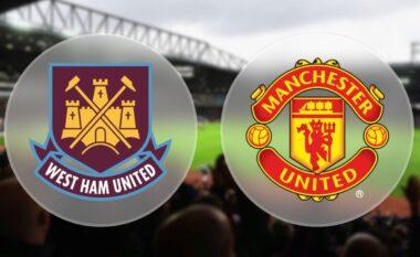 West Ham – Man United, formacionet zyrtare: Ronaldo sërish udhëheq sulmin