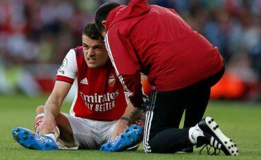 U dëmtua ndaj Tottenham, Xhaka jashtë fushave për 6-8 javë