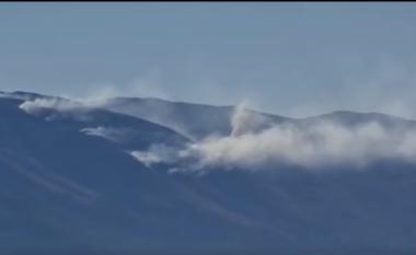 Zjarri në Malin e Thatë prek edhe Parkun Kombëtar të Galiçiçës, thirrje për ndihmë komunës së Ohrit (VIDEO)