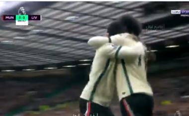 Liverpooli zhbllokon rezultatin përballë Man United (VIDEO)