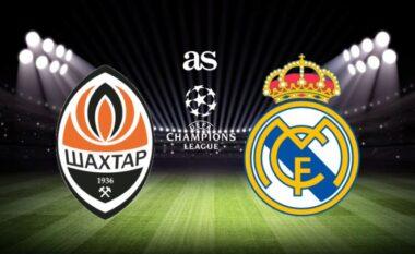 Shakhtar Donetsk-Real Madrid, formacionet zyrtare