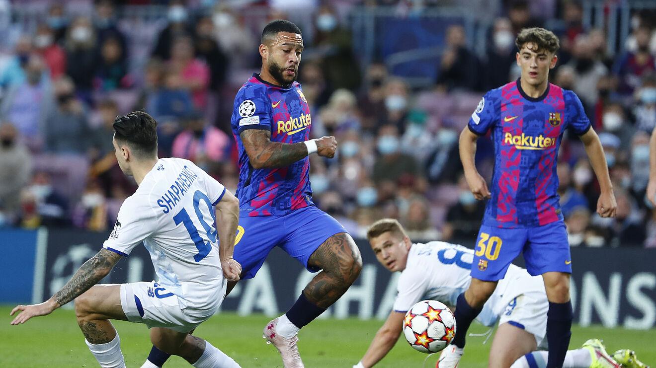 Barcelona mer frymë lirisht, siguron fitoren e parë në Champions (VIDEO)