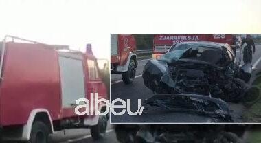 Një i vdekur, dalin pamje nga aksidenti i frikshëm në aksin Lezhë-Shkodër (VIDEO)