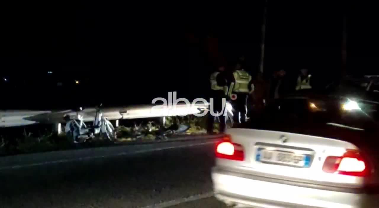 Aksident i rëndënëLezhë-Tiranë: Makina merr përpara këmbësorin, nëgjendje kritike për jetën (VIDEO)