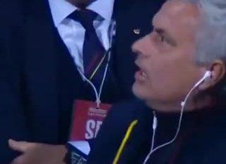 I nevrikosur në maksimum, shikoni si e përjton golin e Romës Mourinho (VIDEO)