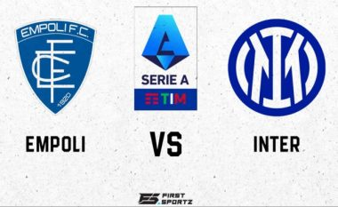 Formacionet zyrtare: Empoli-Inter, Sanchez titullar