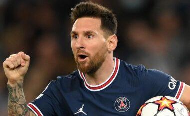 Messi bën heroin, me dopietë i siguron fitoren PSG (VIDEO)