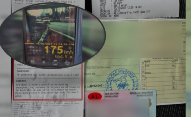 175 km/h në aksin Kavajë-Rrogozhinë, Policia ndëshkon të pabindurit (VIDEO)