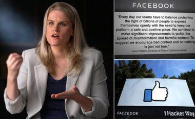 Ish-punonjësja e Facebook: Kompania ka vënë fitimin para së mirës publike