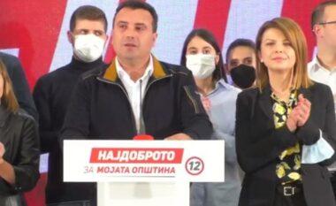 Zaev: Kemi fituar, por në gjithsej 36 komuna dhe Qytetin e Shkupit vazhdojmë në rrethin e dytë