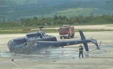 Rrëzohet helikopteri, ndërrojnë jetë tre persona