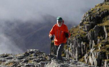 Njihuni me 81-vjeçarin që ka vendosur të ngjitet në 282 male skoceze, për gruan e tij të sëmurë