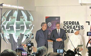 Qendra Serbe e biznesit në Dubai, Vuçiç fton shqiptarët: Ta përdorin edhe zyrtarët e Shqipërisë e Maqedonisë