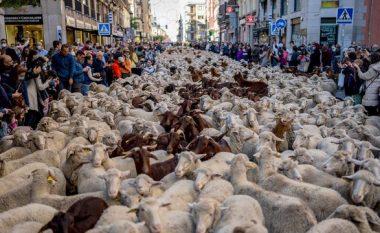 """Delet """"pushtojnë"""" rrugët e Madridit (FOTO LAJM)"""