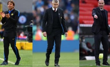 Solskjaer në fije të perit, Conte ose Zidane për Man United