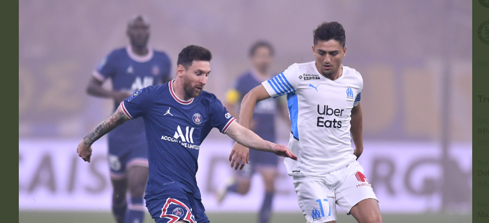 Messi me shokë ndalet nga Marseille (VIDEO)