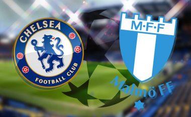 Formacionet zyrtare, Chelsea-Malmo