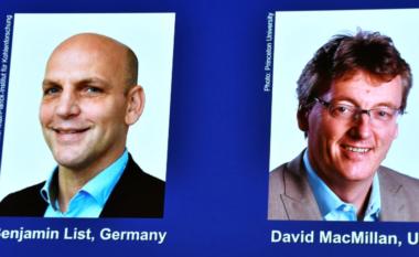 Dy shkencëtarë ndajnë Çmimin Nobel për Kimi