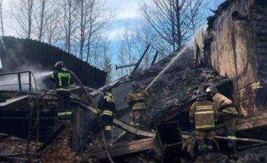 Shpërthen një fabrikë kimike në Rusi, 17 persona ndërrojnë jetë (VIDEO)