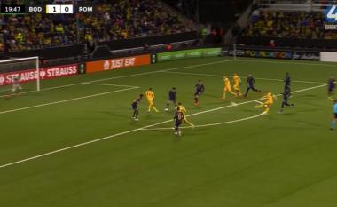 Roma befasohet në Norvegji, pëson golin e dytë (VIDEO)