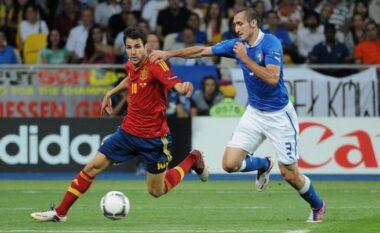 Chiellini kërkon hakmarrje ndaj Spanjës: Është një plagë e madhe ajo finale e 2012