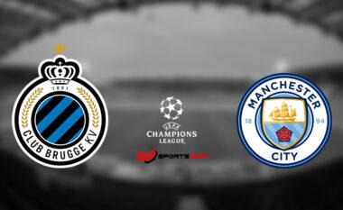 Formacionet zyrtare: Club Brugge-Man City