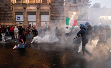 """Protestat e dhunshme në Romë kundër """"green pass"""", arrestohen dy politikanë"""