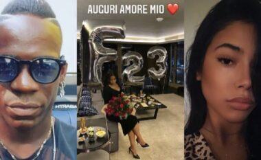Festoi 23 vjetorin, kjo është e dashura kamariere e Balotellit (VIDEO)