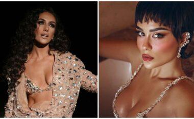 Kujt i shkon më shumë? Elhaida dhe Xhensila shfaqen me të njëjtën veshje (FOTO LAJM)