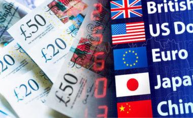 Njihuni me këmbimin valutor të ditës së sotme: Bie dollari, euro dhe paundi britanik!