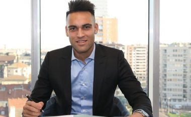 Fjalët e Lautaro Martinez pas rinovimit zyrtar me Interin