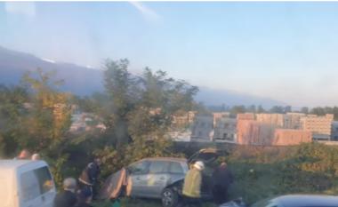 Aksident në autostradën Shkup-Tetovë, ka të vdekur (FOTO LAJM)