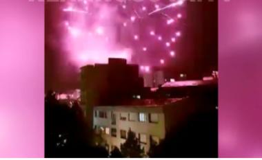 Shpërthen festa në Mitrovicë (VIDEO)