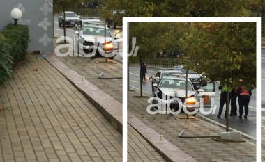 E FUNDIT/ Tiranë: Aksidentohet makina e policisë (VIDEO+FOTO)