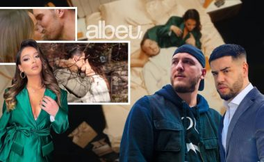 Shkëmbeu puthje intime në ekran, kush është modelja bukuroshe në klipin e Mozzik dhe Noizy (FOTO LAJM)
