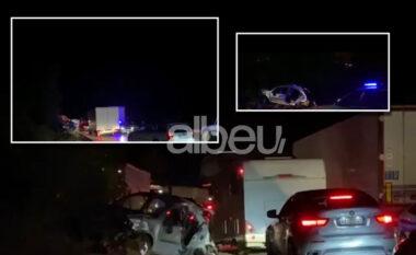 Dalin pamjet e aksidentit me një viktimë në Elbasan (FOTO LAJM)
