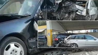 Aksident i shumëfishtë në Durrës: Makina merr përpara katër mjete të tjera! (FOTO LAJM)