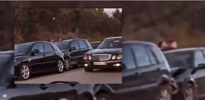 Aksident i trefishtë në Elbasan (VIDEO)