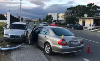 Aksident në Tiranë: Makina del nga rruga, plagosen 4 pasagjerët