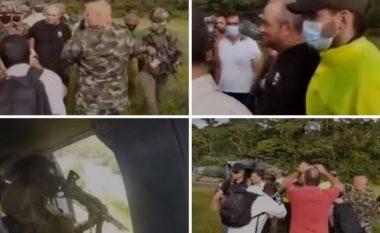 """Mbi 500 ushtarë për ta arrestuar në xhungël, pamjet nga momenti i kapjes së Eskobarit """"modern"""" në Kolumbi (VIDEO)"""